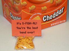 Marching Orangemen - Gold Fish treat