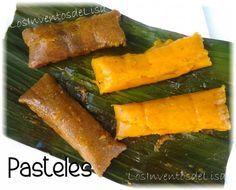Los Inventos de Lisa: Pasteles de Masa- YUCA OR GREEN BANANA............ MAIN PATRY ENTREE