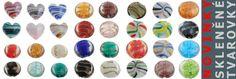 Novinky na e-shopu: skleněné tvarovky. http://www.efabos.cz  #sperky #jewellery #jewelry http://www.fabolous.cz