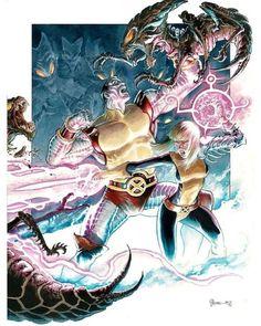 Colossus and Magik vs The Brood by Daniel Govar Batwoman, Nightwing, Magik Marvel, Marvel Comics, New Mutants Movie, The New Mutants, Marvel Characters, Comic Book Characters, Comic Books Art