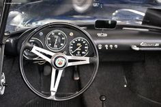 Photographs of the 1959 Abarth Spider. An image gallery of the Fiat Abarth, Amelia Island, Classic Italian, Cars, Vehicles, Interior, Spider, Image, Indoor