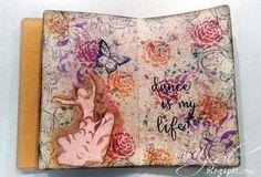 ArtGrupa vyhlásila 10tú art journal výzvu. Jej autorom je skvelá Iwona a téma je Tanec . Tanec je krásny, niekto sa mu venuje celý živ...