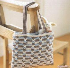 Delicadezas en crochet Gabriela: Bolsa multiuso