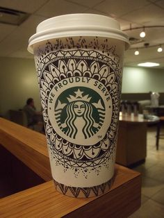Starbucks fancy cup