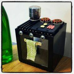 doll furniture recycled materials. Dollhouse Stove DIY Made From Recycled Materials. Doll Furniture Materials L