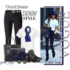 Get the Look: High-Waisted Jeans by goreti on Polyvore featuring Le Ciel Bleu, Love Moschino, Pierre Hardy, Balenciaga, rag & bone, Marc by Marc Jacobs, Ray-Ban, Yves Saint Laurent, Chanel and highwaistedjeans