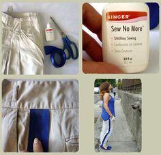 Crea unos stripe pants sin dar ni una puntada
