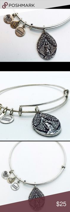 Alex and Ani Guardian of Peace bangle silver color New with no tags no box silver color Alex & Ani Jewelry Bracelets