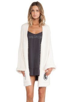 Wildfox Couture Robe in Vintage Lace   REVOLVE