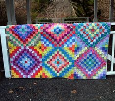 Twin to Double Quilt in Kaffe Fassett Fabrics by uniquelynancy