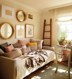 Daybed Small Bedroom Decorating Ideas Brown on daybed design ideas, daybed west elm emmerson, carmel living room ideas,