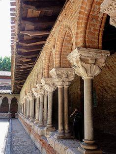 L'abbaye de Moissac. Tarn-et-Garonne. Midi- Pyrénées.