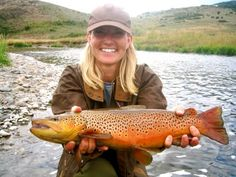 Girls really do like to fish! (trout mostly)