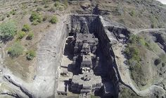 1200 year-old hindu temple carved out of a single rock - Album on Imgur