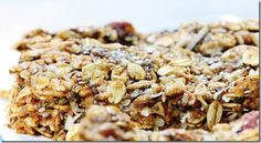 Super Speedy, No Bake Omega-3 Vegan Snack Bars (vegan, gluten free with appropriate rolled oats, soy free)
