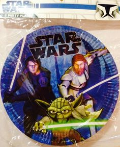 Star Wars the Clone Wars Party Plates http://partyzone.com.au/boys-party-themes-star-wars-party-supplies-biggest-range-c-228_335.html