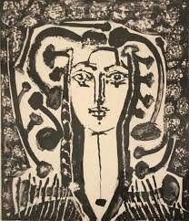 Retrato de Francoise Gillot por Pablo Picasso