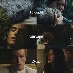 """49 Likes, 2 Comments - Katniss Peeta Mellark (@peeta_katniss_always_together) on Instagram: """"These scenes show us how much Katniss loves Peeta She want keep him alive and protect him all over…"""""""