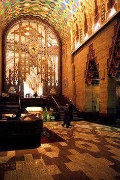 Art Deco exuberance - Detroit, Michigan.