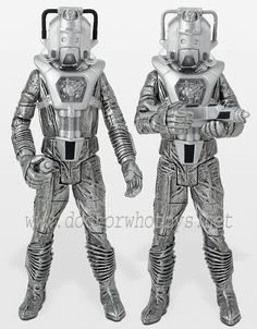 19. Silver Nemesis set: contains 1 Cyberleader and 1 Cyberman troop (both with guns)