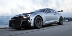 This Is Chevy's ZL1-Based Camaro GT4 Race Car  - RoadandTrack.com