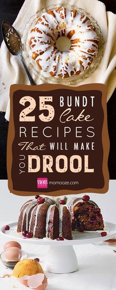 25 Bundt Cake Recipes That Will Make You Drool 25 bundt cake recipes that are sure to become your favorites. Get your apron on and your oven heated. These bundt cake recipes will induce a bake fest sesh! Köstliche Desserts, Delicious Desserts, Dessert Recipes, Bundy Cake, Nothing Bundt Cakes, Pound Cake Recipes, Pound Cakes, Mini Bunt Cake Recipes, Salty Cake