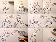 Sketchy Story - One Punch Man