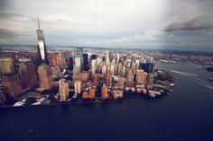 NYC aerial views
