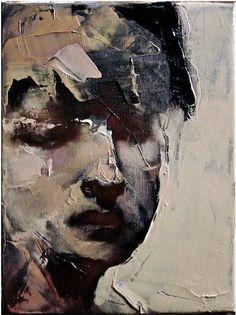 Paul W Ruiz - Saltimbanque II (2008, oil on linen, 20x15cm)