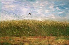 Corn Field in Oil by CarolynYM on DeviantArt