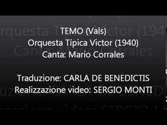 TEMO - Orquesta Típica Victor - Traduzione in italiano