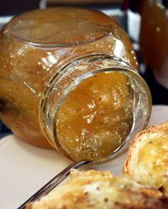 Confiture pommes & poires à l'orange et à la vanille