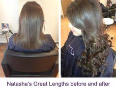 Ultrasonic cold fusion hair extensions in 18 black and off black great lengths hair extensions before and after pictures ruislip greatlengths hair extensions pmusecretfo Images