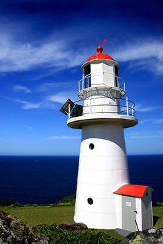 Lighthouse at Double Island Point, Rainbow Beach, Queensland, Australia Visit Australia, Australia Travel, Queensland Australia, Double Islands, Rainbow Beach, Australian Beach, Fraser Island, Water Pictures, Beacon Of Light