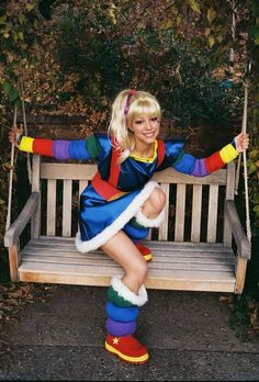 Rainbow Brite - can't even tell you why I want to dress up as her...