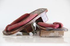 Japanse Samurai houten sandalen - Te KOOP bij Zolderwinkel.nl