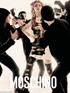 Stealing the show: The shots form the campaign for Moschino's Spring /Summer 17 campaign -...