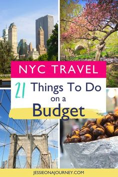 Want to travel to NYC on a budget? This guide shares the best cheap and free things to do in New York City! // #NYC #NewYorkCity #BudgetTravel #FreeThingsToDo Cheap Things To Do, Free Things To Do, Stuff To Do, New York Travel, Travel Usa, Travel Advice, Travel Tips, Travel Guides, Travel Destinations