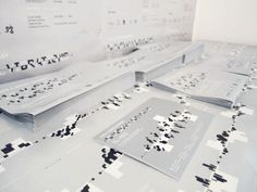 2009 A SPACE ODYSSEY - 16 Visual Vibrations by Pinky Leung, via Behance