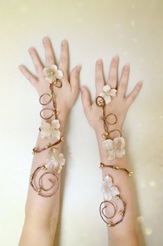 Hey, I found this really awesome Etsy listing at https://www.etsy.com/listing/194122139/gold-fairy-cuffs