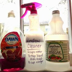 faith in all things: Homemade Window Cleaner