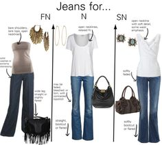 Jeans for Natural types