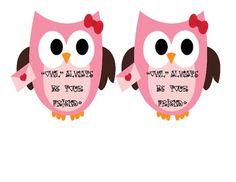 """Owl Valentine - """"Owl"""" Always Be Your Friend."""