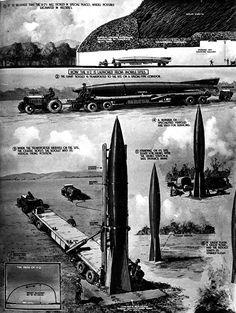 V-2 Rockets (Oct.1,1945)