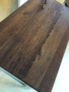 How To Stain Pine A Warm Medium Brown While Minimizing