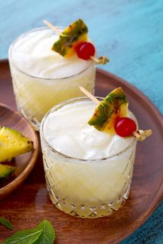 Pina Colada with a twist