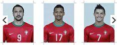 INFOGRAFIA: Os 23 escolhidos de Paulo Bento para o Mundial do Brasil