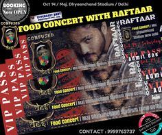 #CONFUSED #DESI #FOOD #CONCERT  #RAFTAAR + 5 OTHER #MUSIC #DANCE #ARTISTS +40 FOOD STALLS  EARLY BIRD #DISCOUNTS #AVAILABLE  CALL 9999763737 or write to customercare@localturnon.com