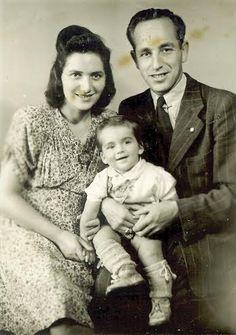 משפחת לוין במחנה לנדסברג