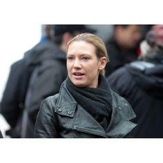 Olivia Dunham Biker Fringe Jacket - Anna Torv Fringe Jacket S5
